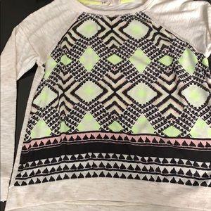 Jolt Chiffon Sweater